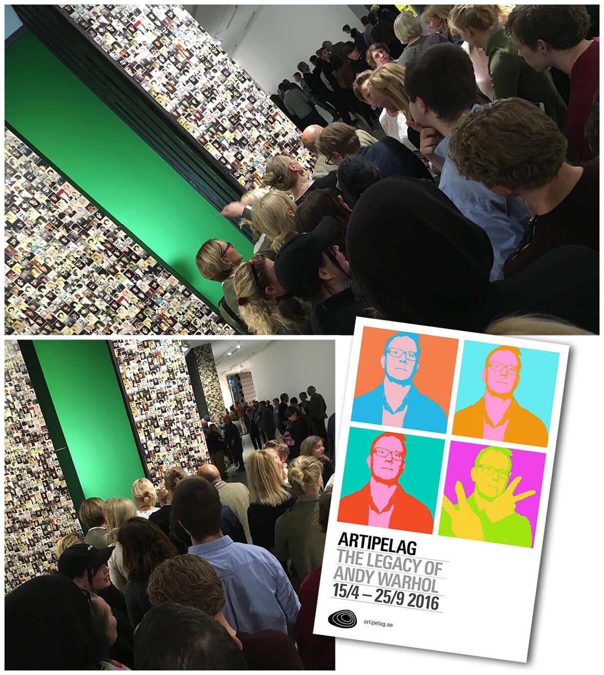 Andy Warhol - Interaktiv del i utställningen